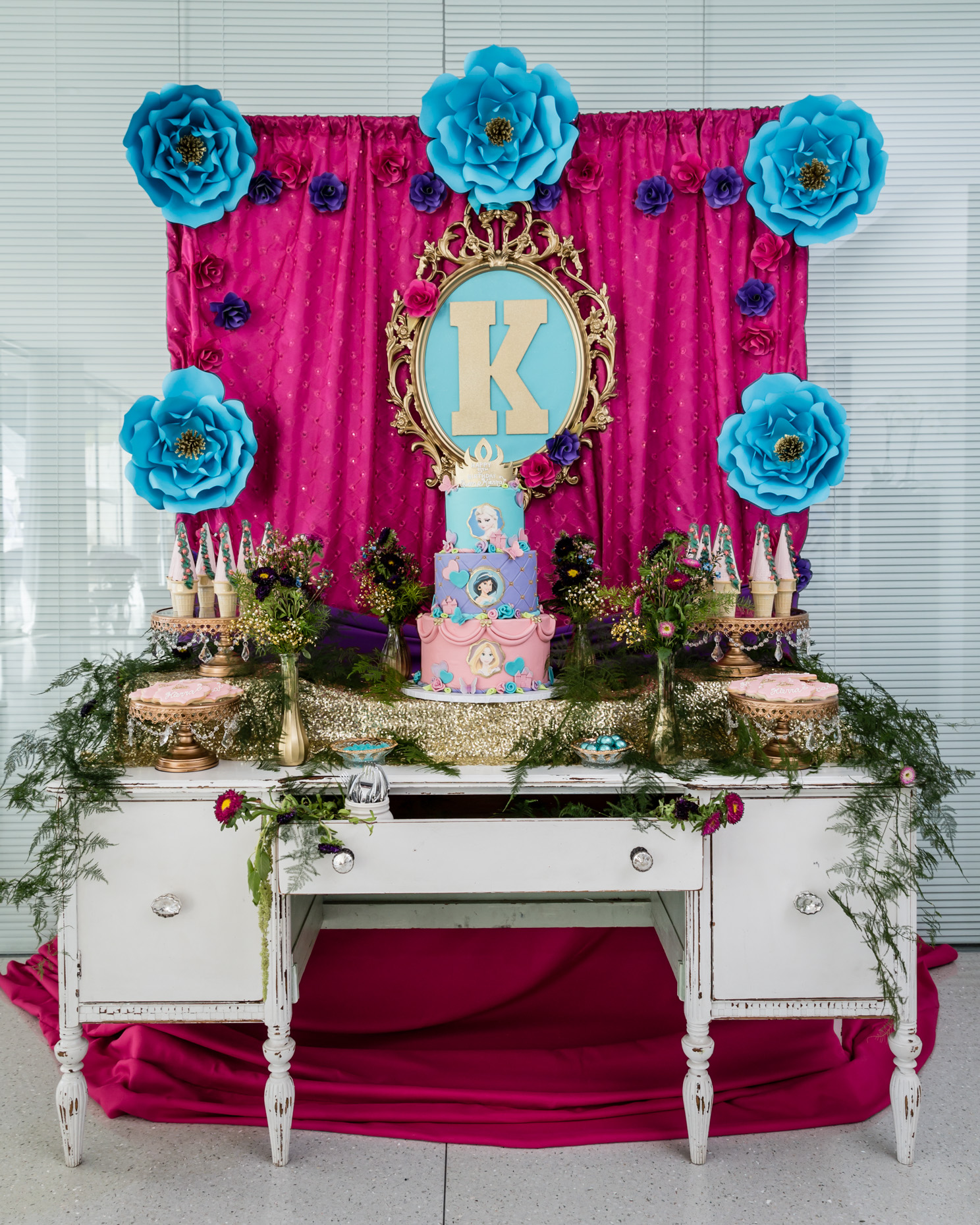princess birthday party planner beverly hills