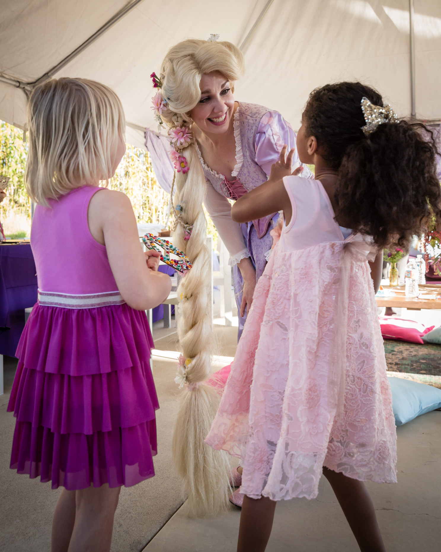 rapunzel tangled birthday party planner los angeles