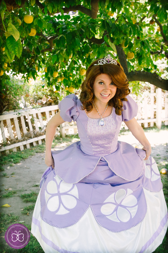princess sofia the first character los angeles