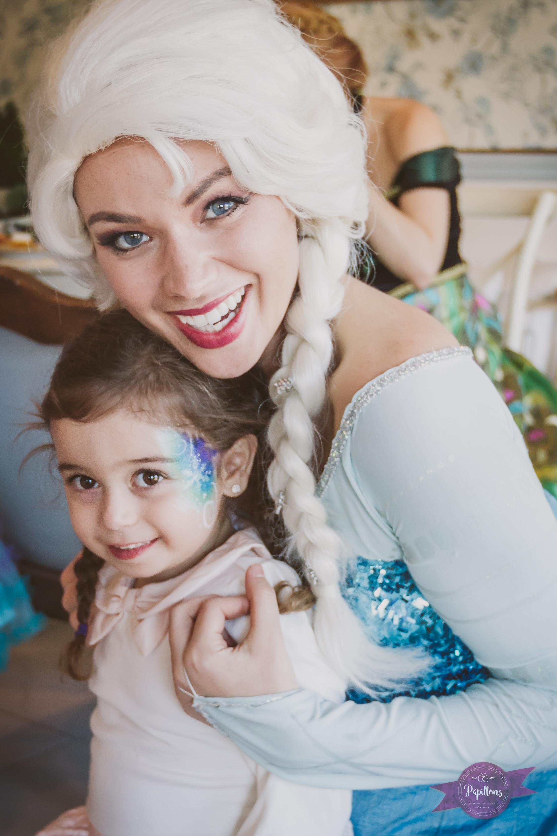 queen elsa frozen party character los angeles