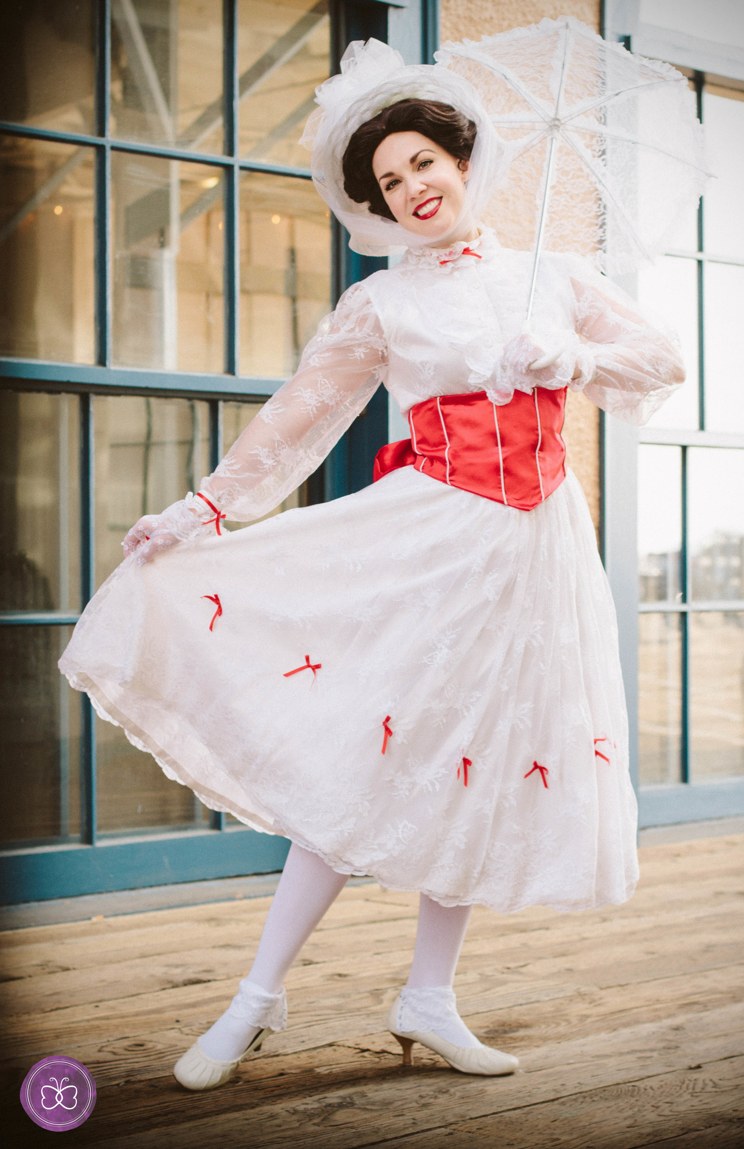 mary poppins jolly holiday party character los angeles