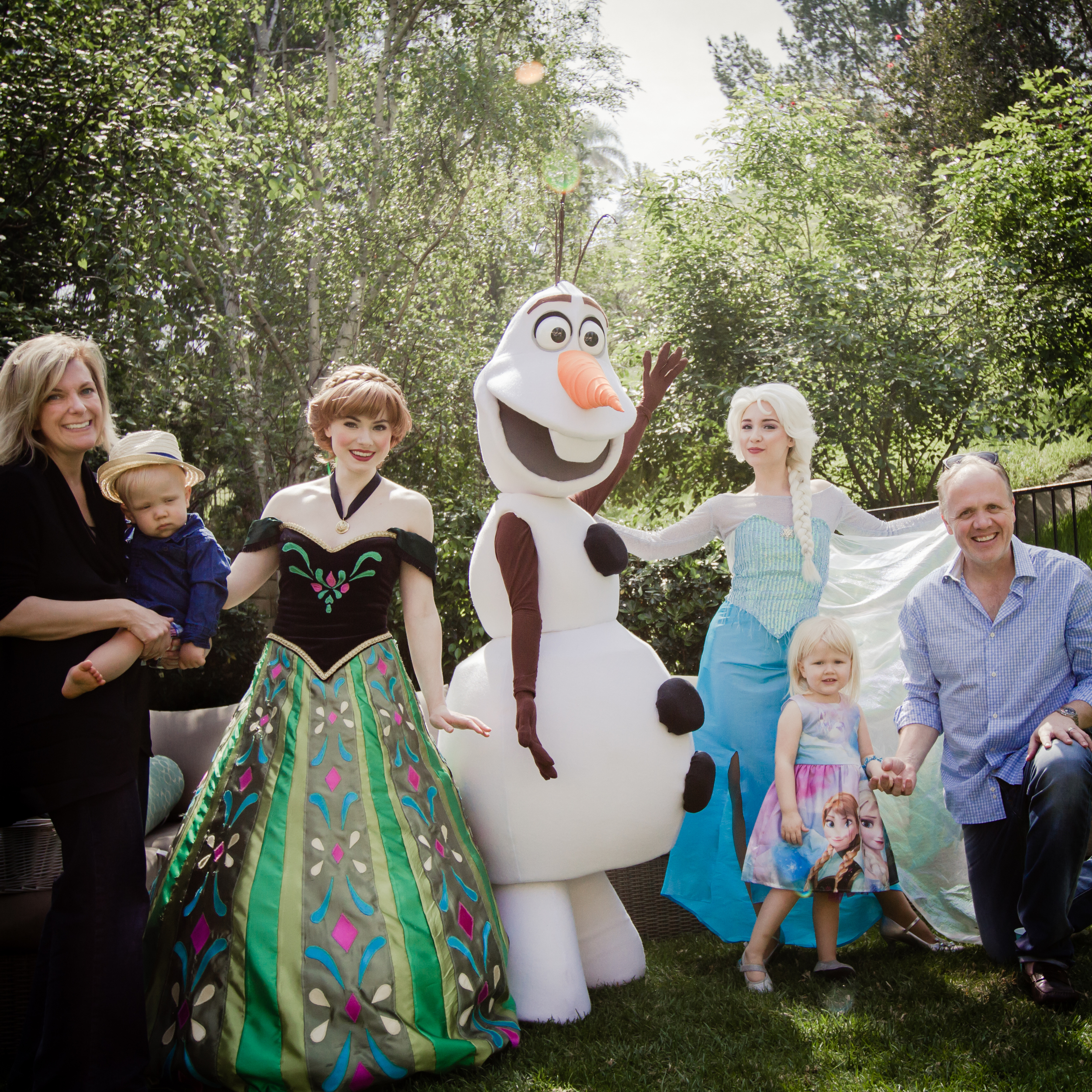 With the Snow Queen, Norwegian Princess and our Magic Snowman, you can celebrate winter in summer... or anytime of year!
