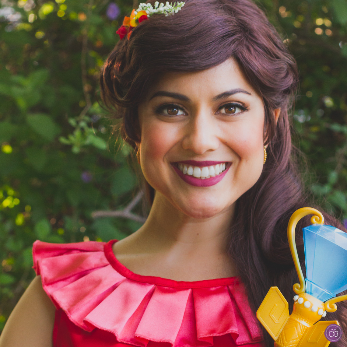 Elena of Avalor princess party character Los Angeles