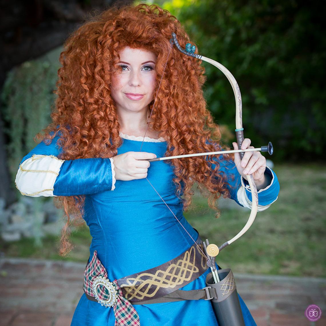 Merida Brave princess party character Los Angeles