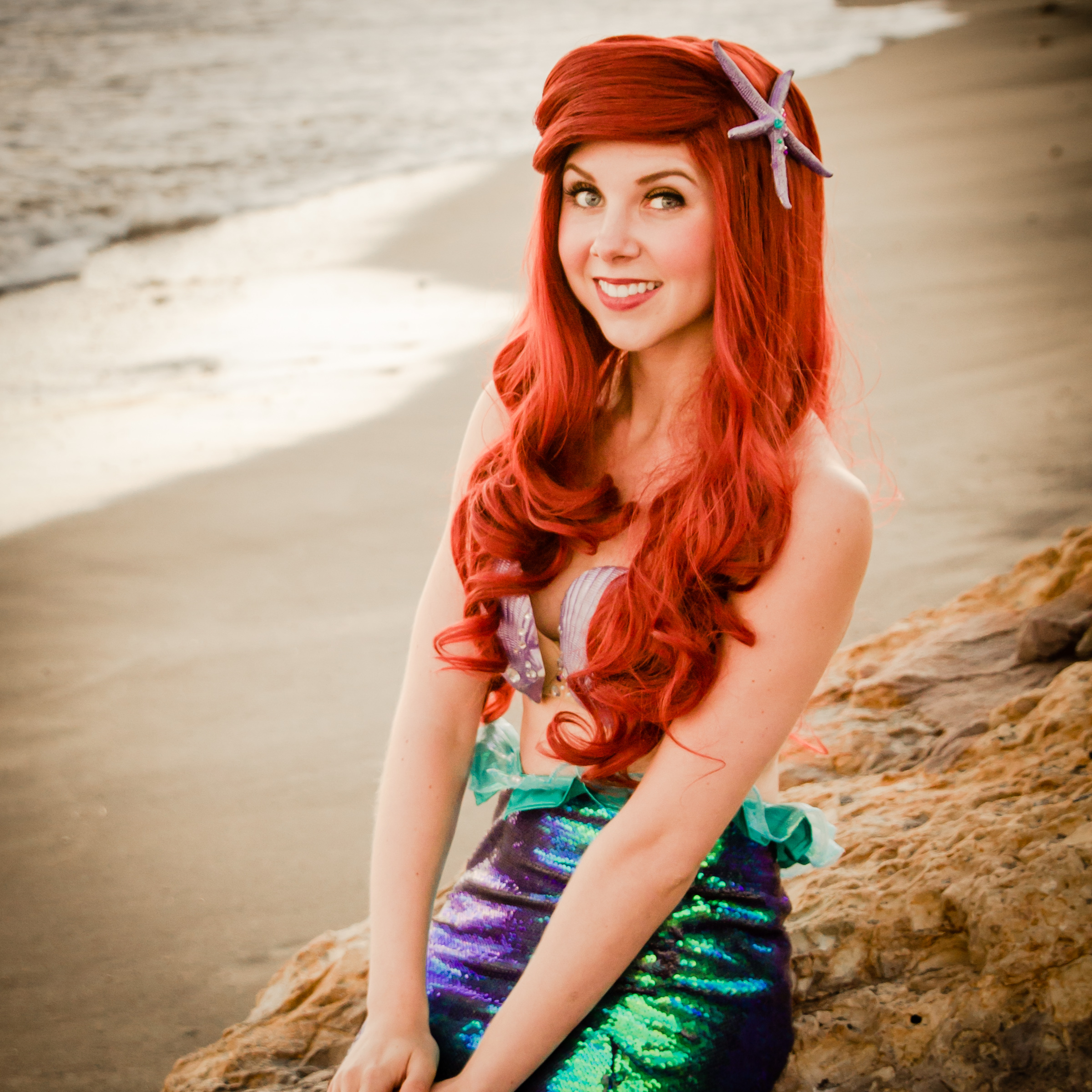 Little Mermaid princess party character Los Angeles