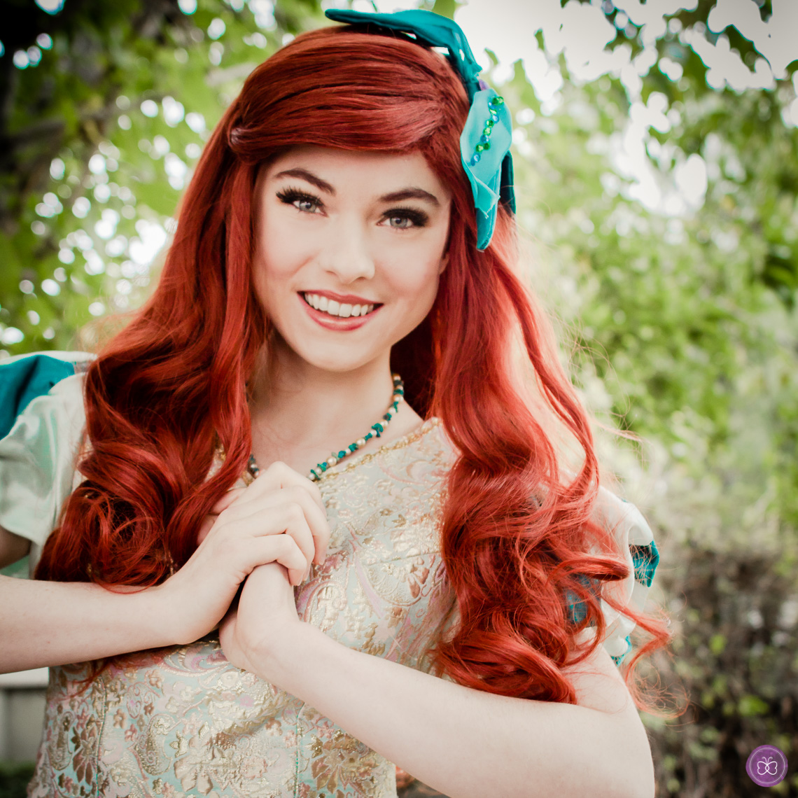 Princess Ariel party character Los Angeles.