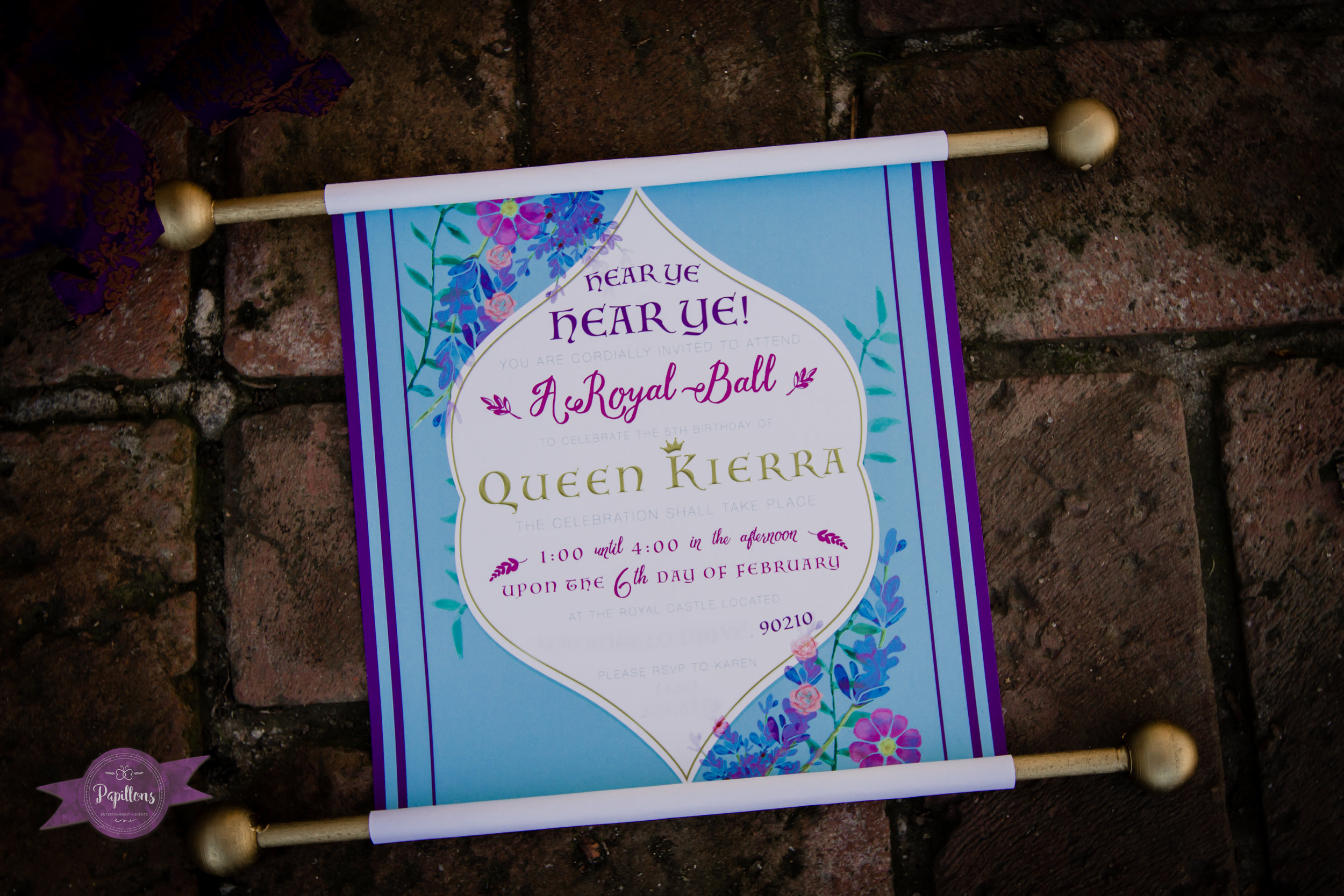 custom party invitation scroll beverly hills los angeles (1 of 1).jpg