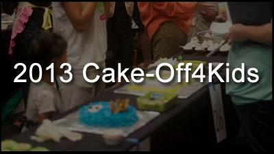 2013 CakeOff4Kids