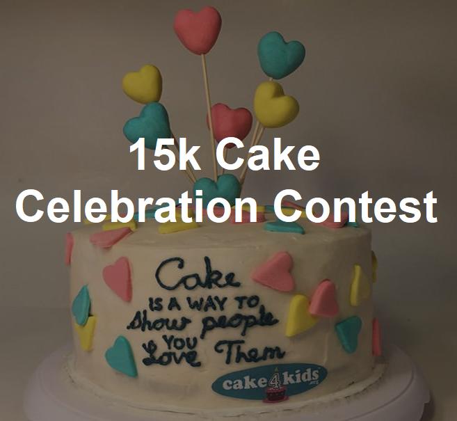 15k Cake Celebration Contest