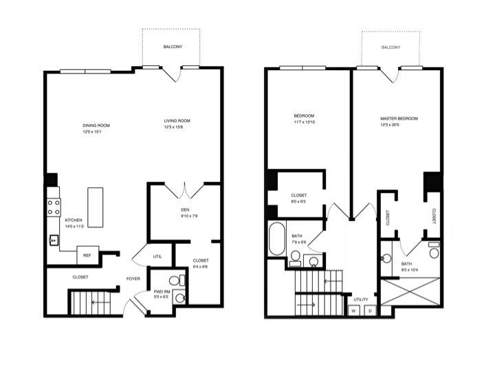 Click on the floor plan to download ...