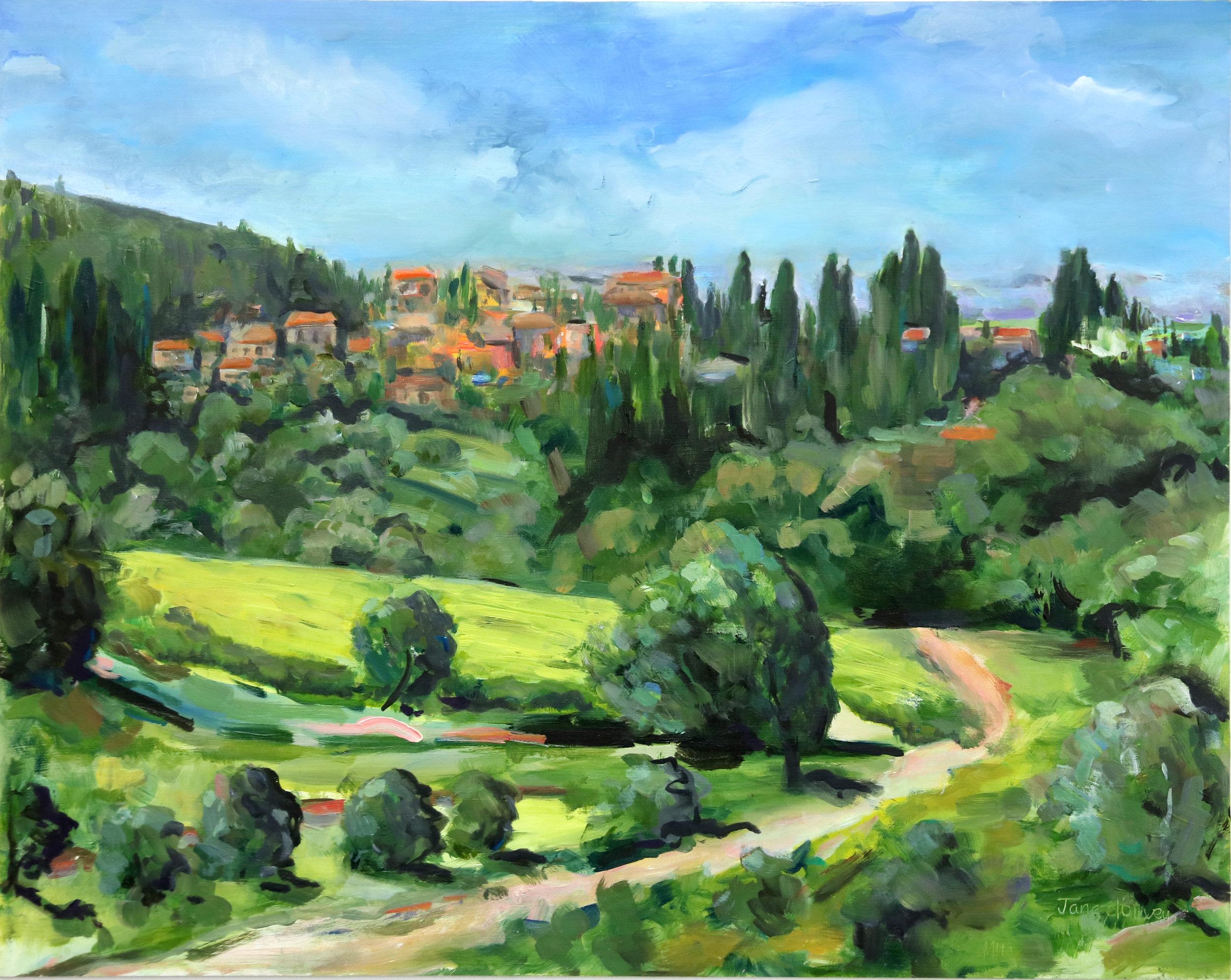 Jane D'Oliveyra, Towards Panzano