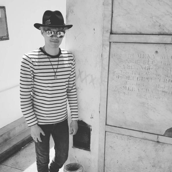 At Marie Laveau's (possible) grave