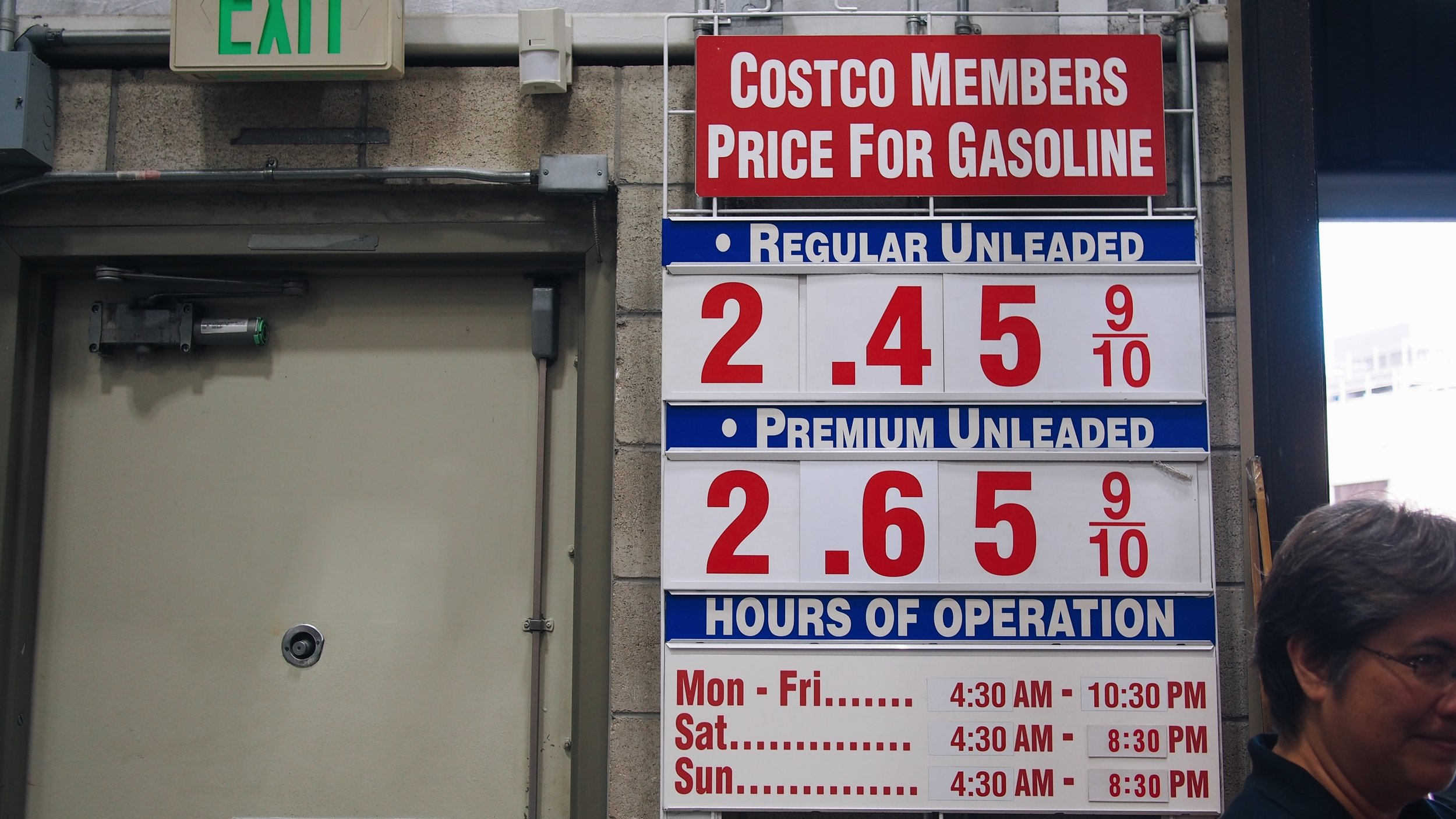 costco hawaii's gas prices