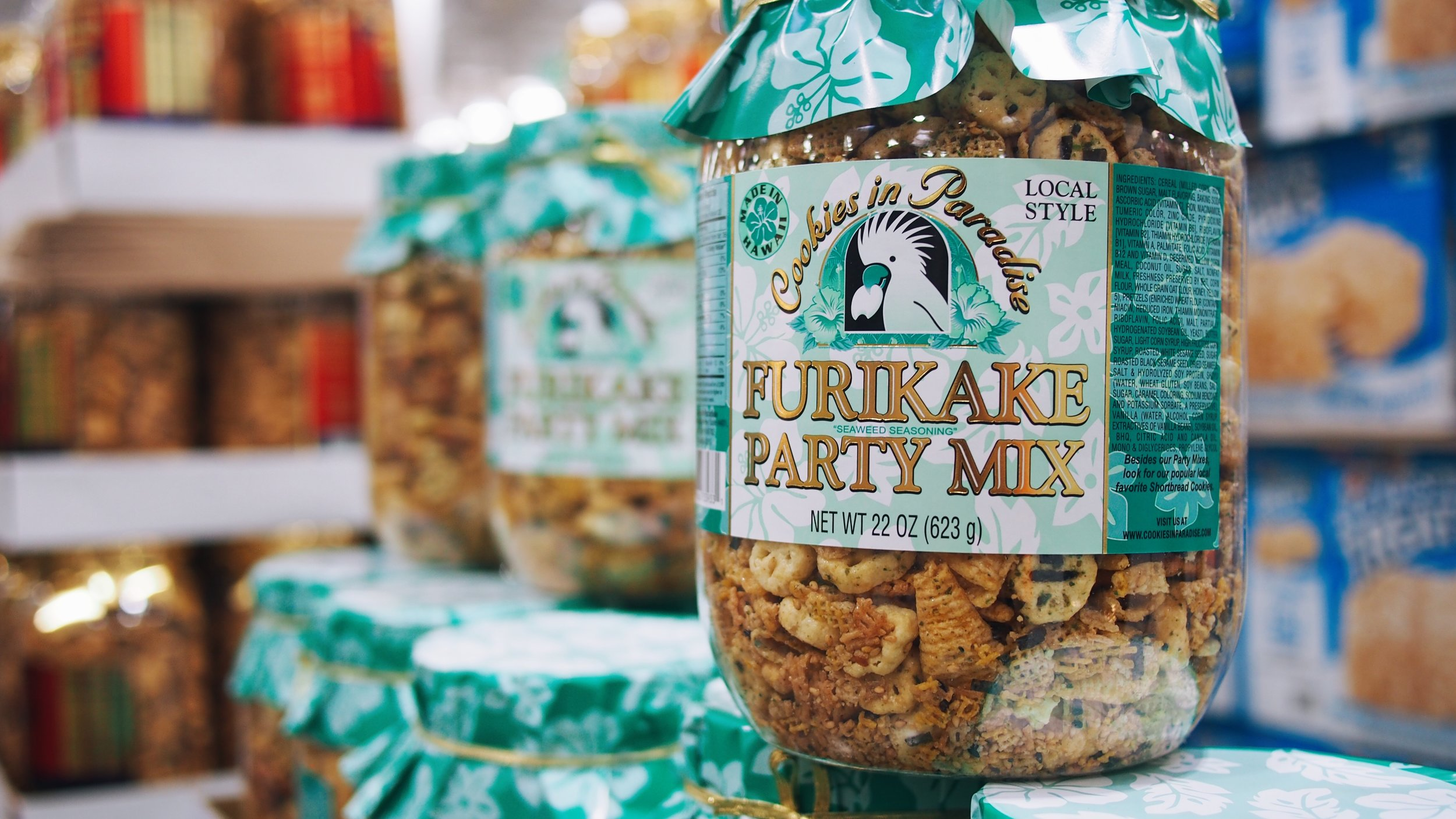 Hawaii costco furikake mix