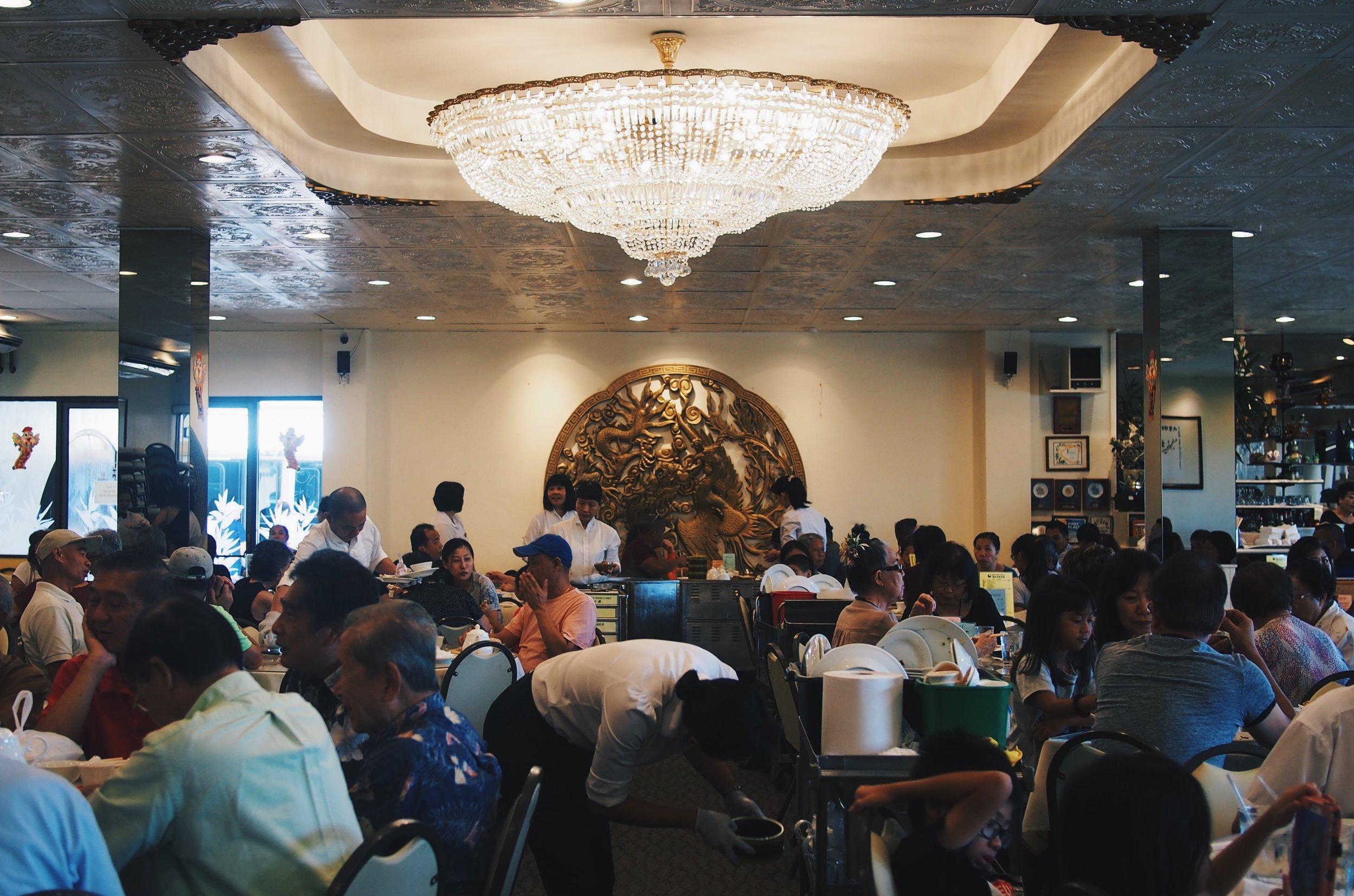 Chinese dim sum restaurant in Honolulu