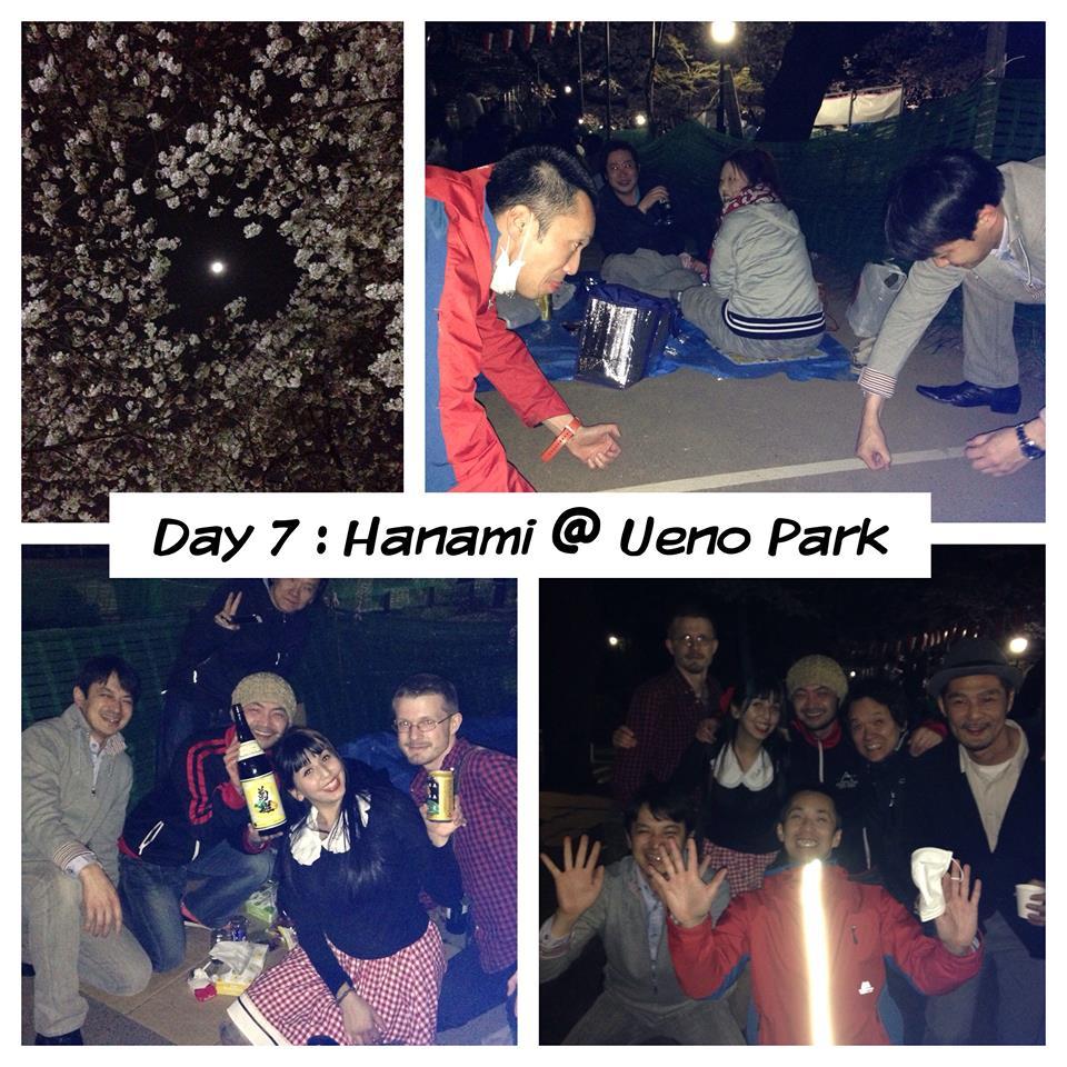 Last year at Hanami.
