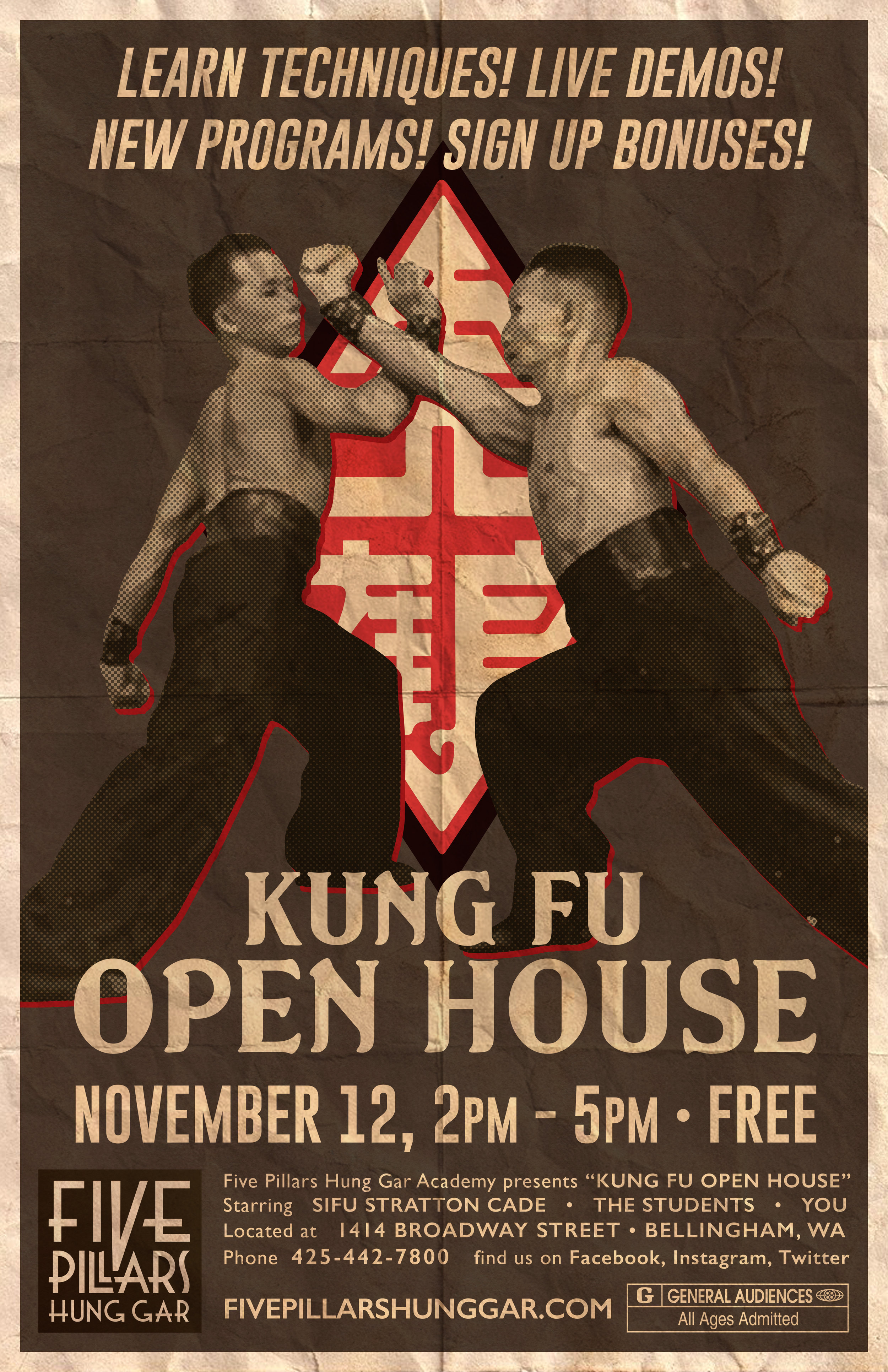 Open House Flyer / Poster