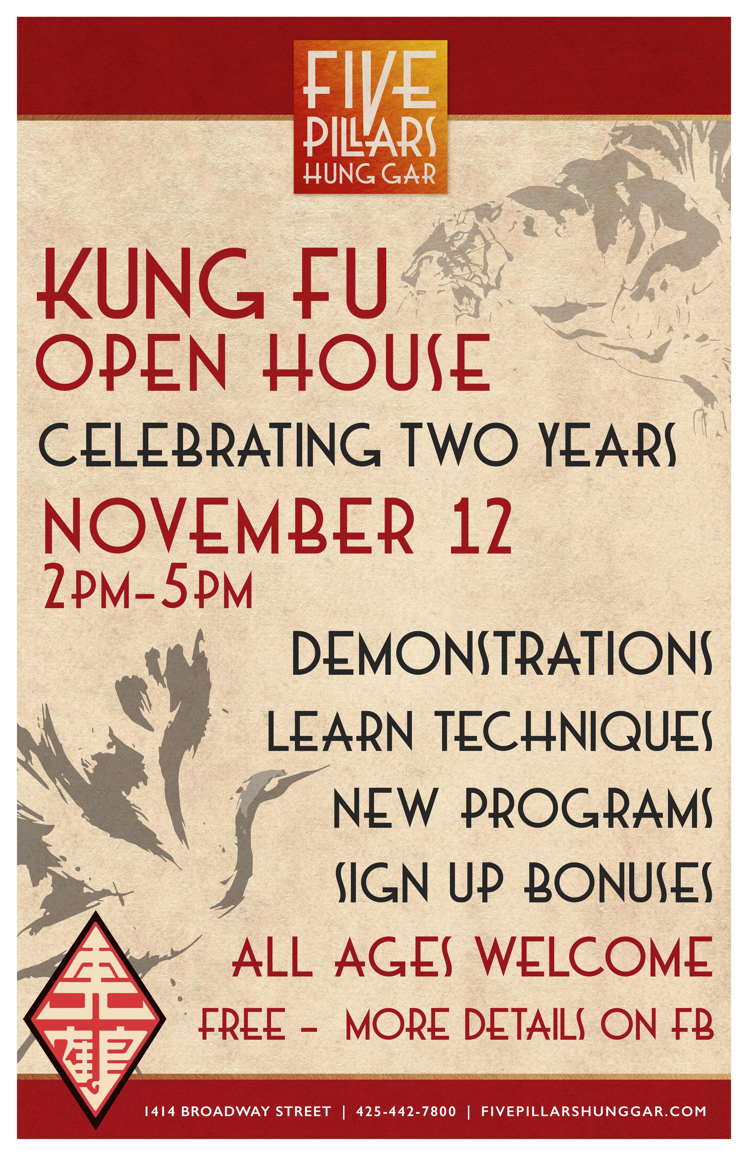 Alternate Open House Poster