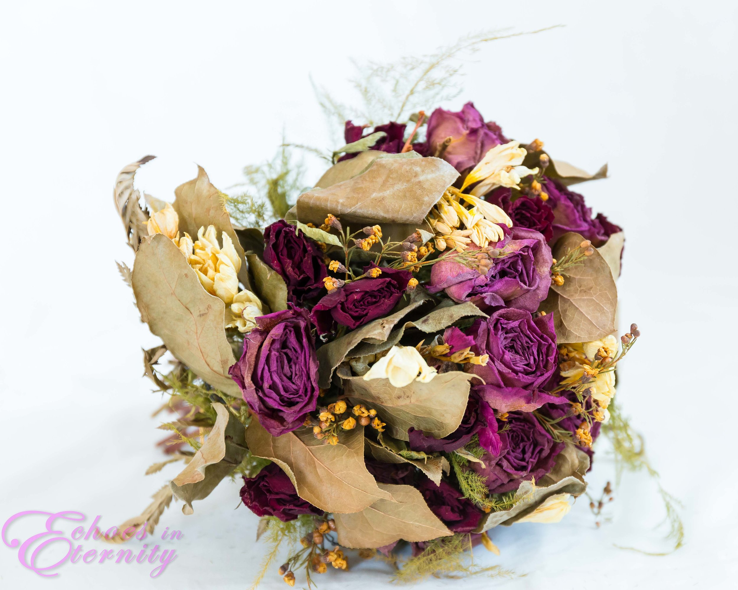 dried wedding floral boquet tucson arizona wedding photographer