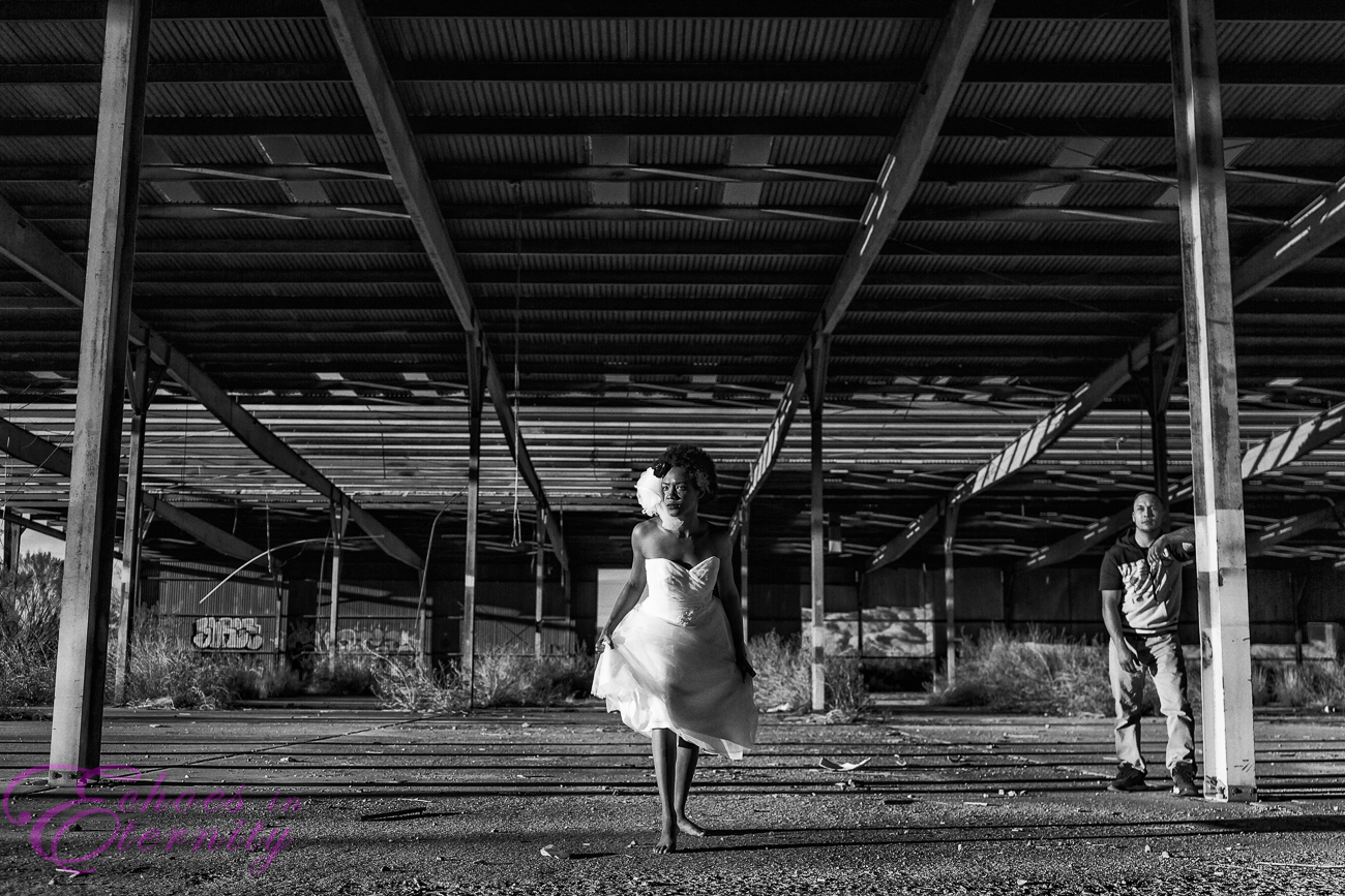 Trash the dress shoot tucson warehouse 04