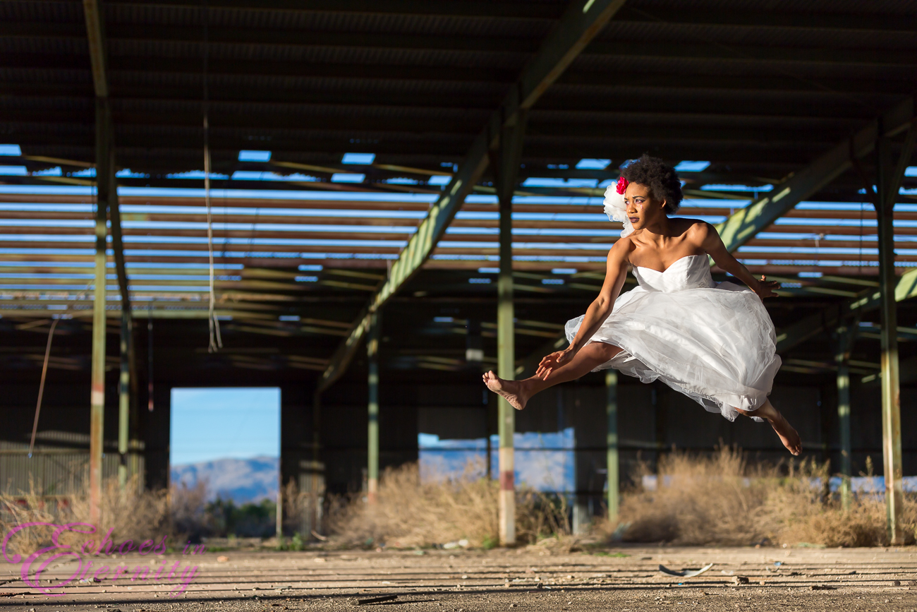 Trash the dress shoot tucson warehouse 05