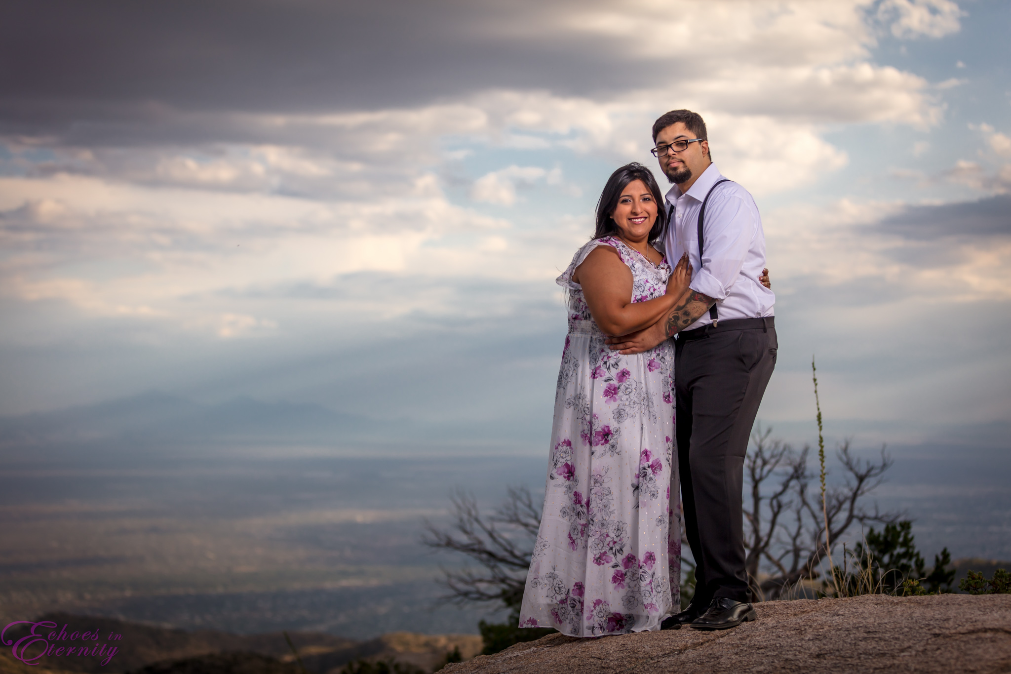 Zach and EJ Tucson Wedding and Engagement Photographer Mt. Lemmon Windy Point 15.jpg
