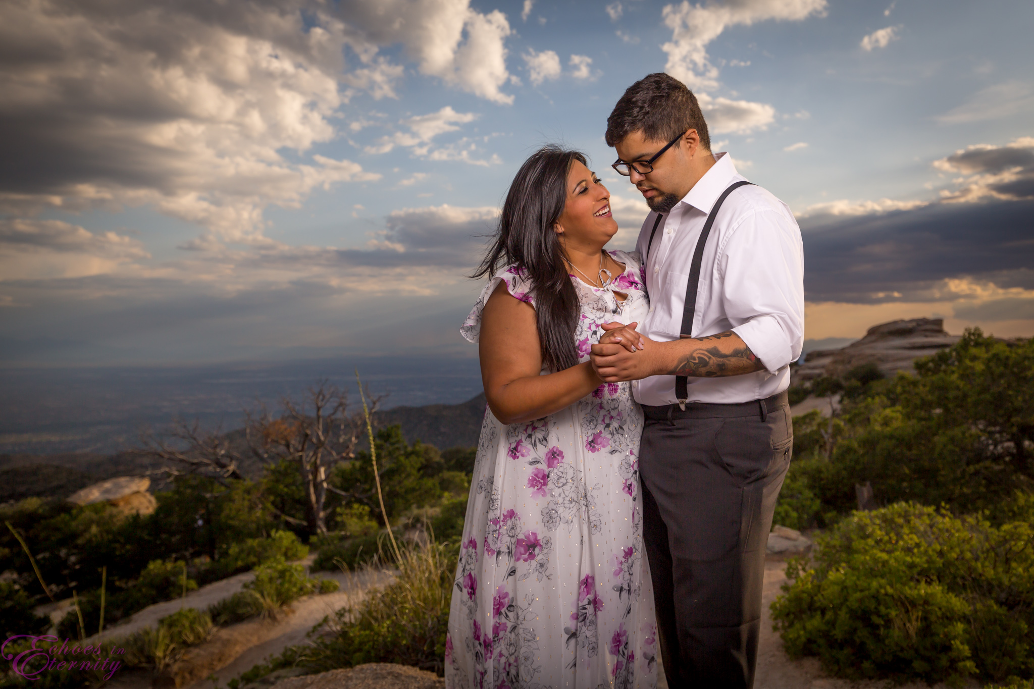 Zach and EJ Tucson Wedding and Engagement Photographer Mt. Lemmon Windy Point 16.jpg