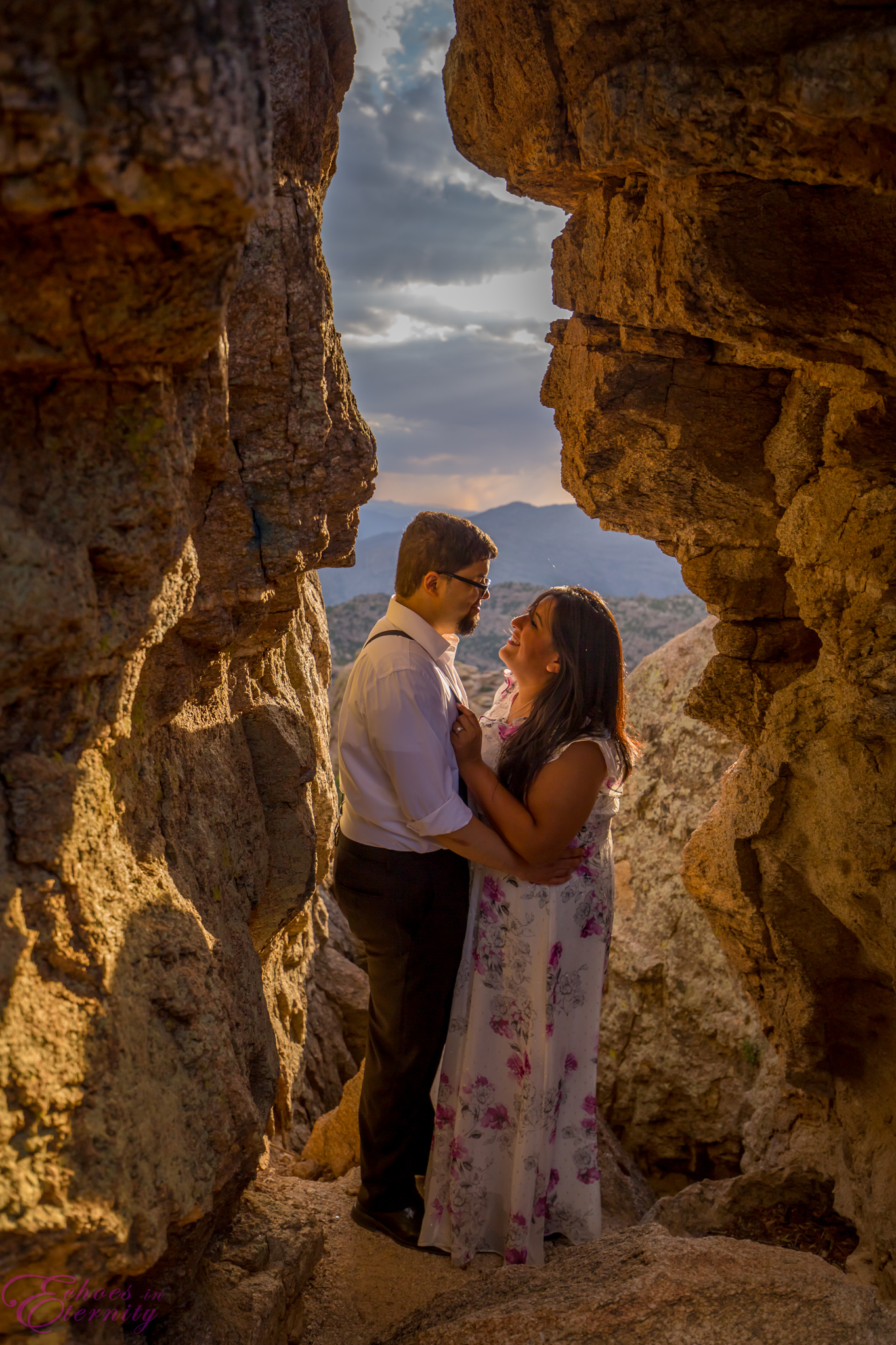 Zach and EJ Tucson Wedding and Engagement Photographer Mt. Lemmon Windy Point 18.jpg