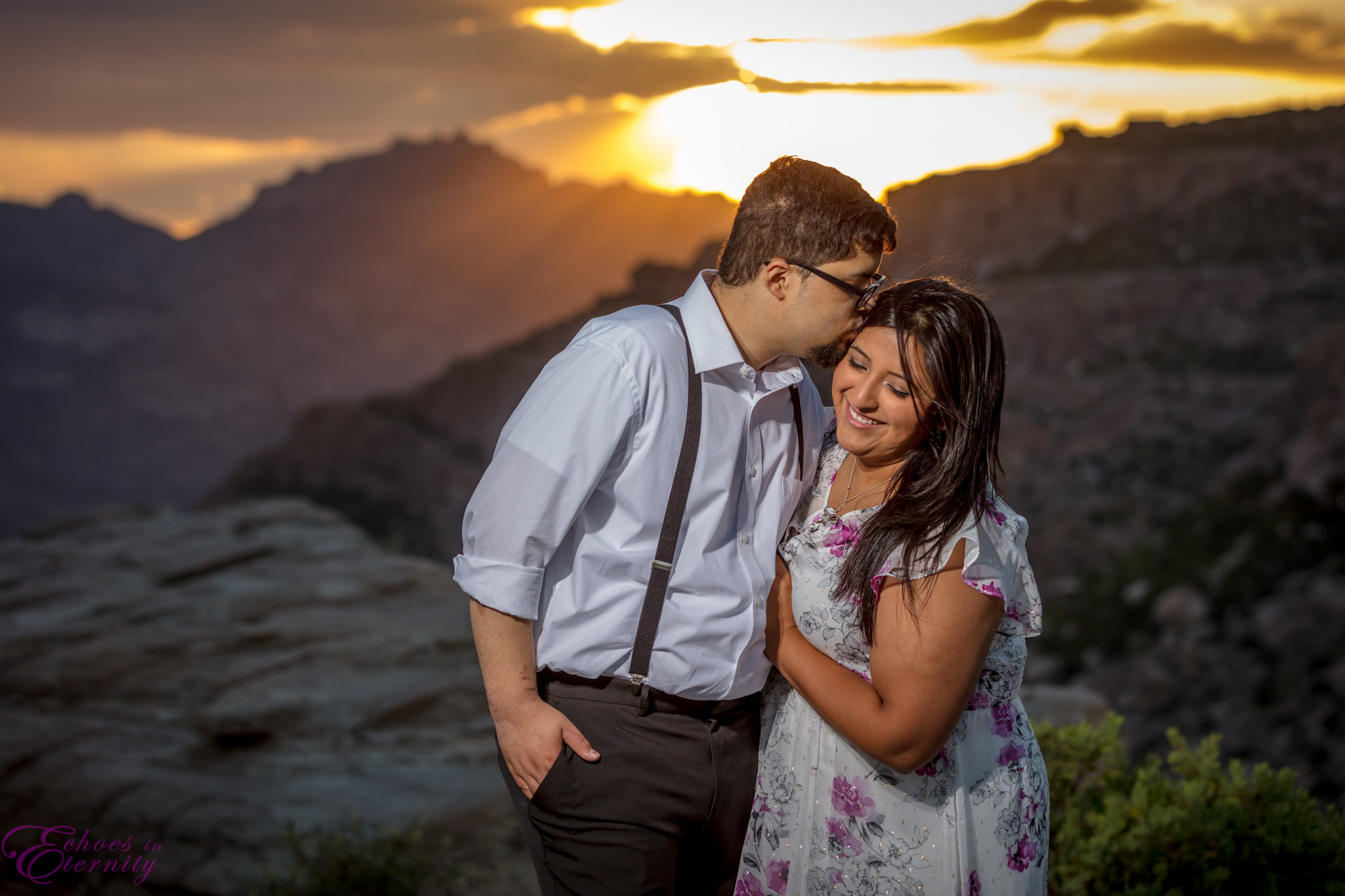 Zach and EJ Tucson Wedding and Engagement Photographer Mt. Lemmon Windy Point 22.jpg