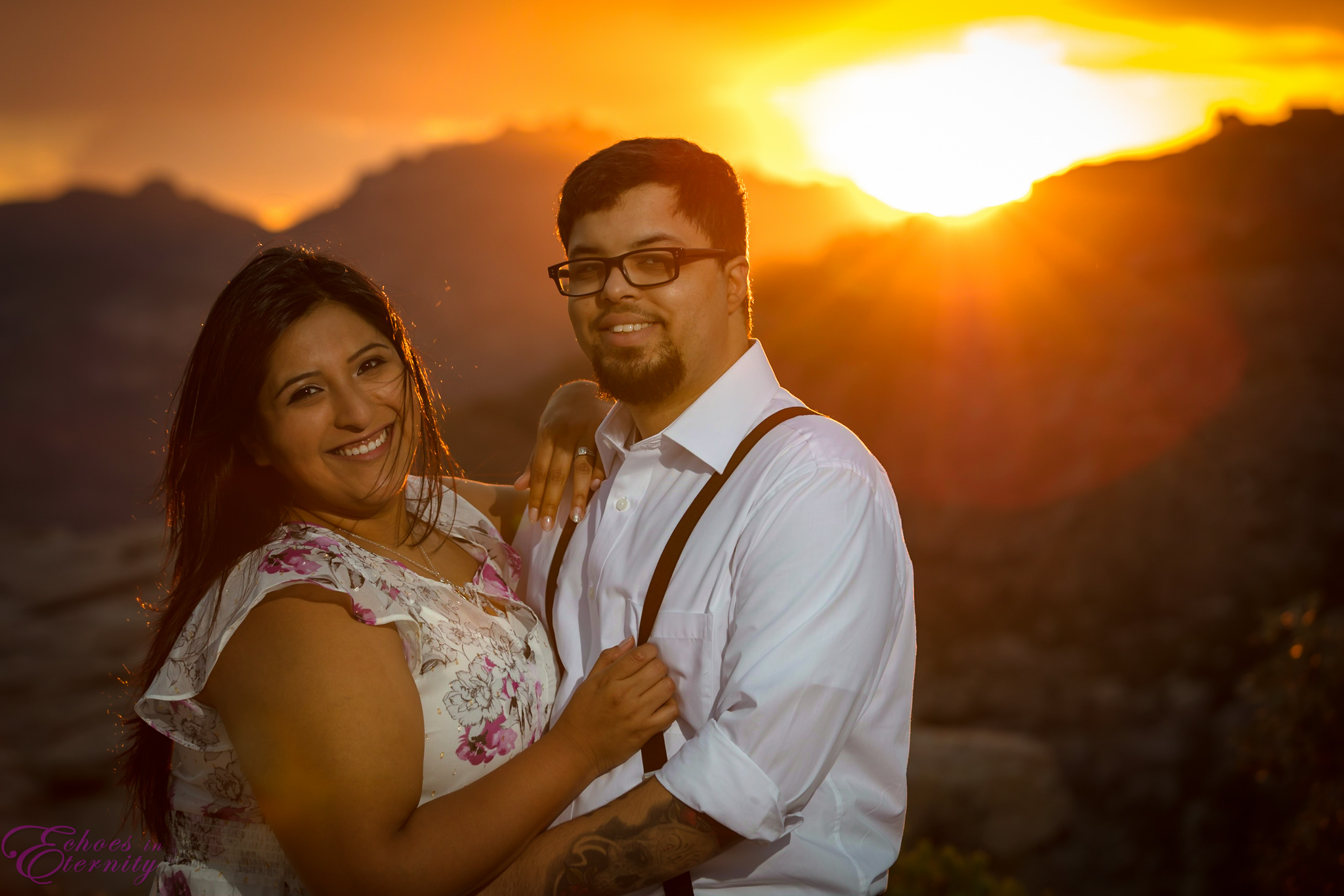 Zach and EJ Tucson Wedding and Engagement Photographer Mt. Lemmon Windy Point 23.jpg
