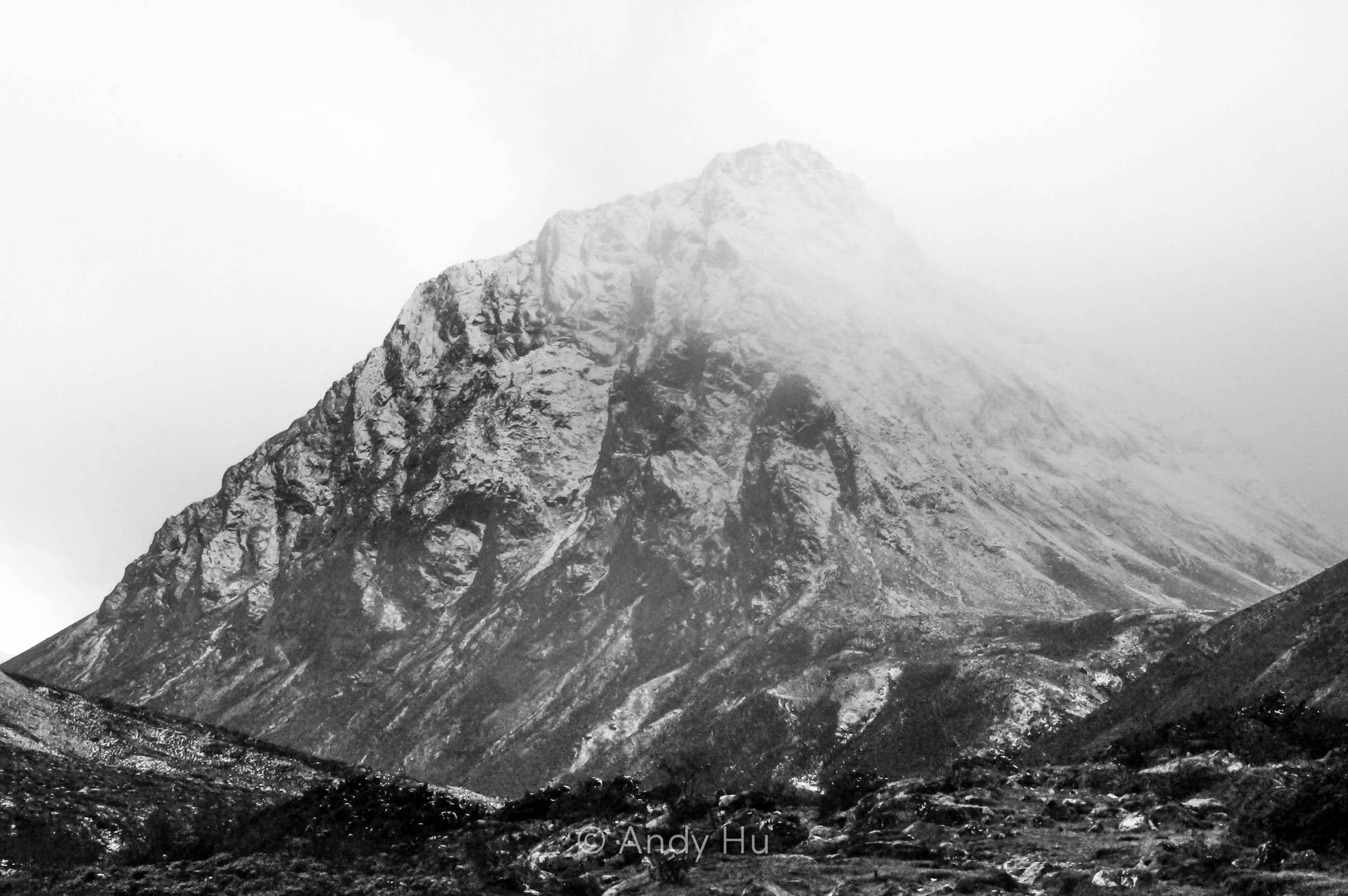 Mountains in Blizzard, Mt. Gongga Trek