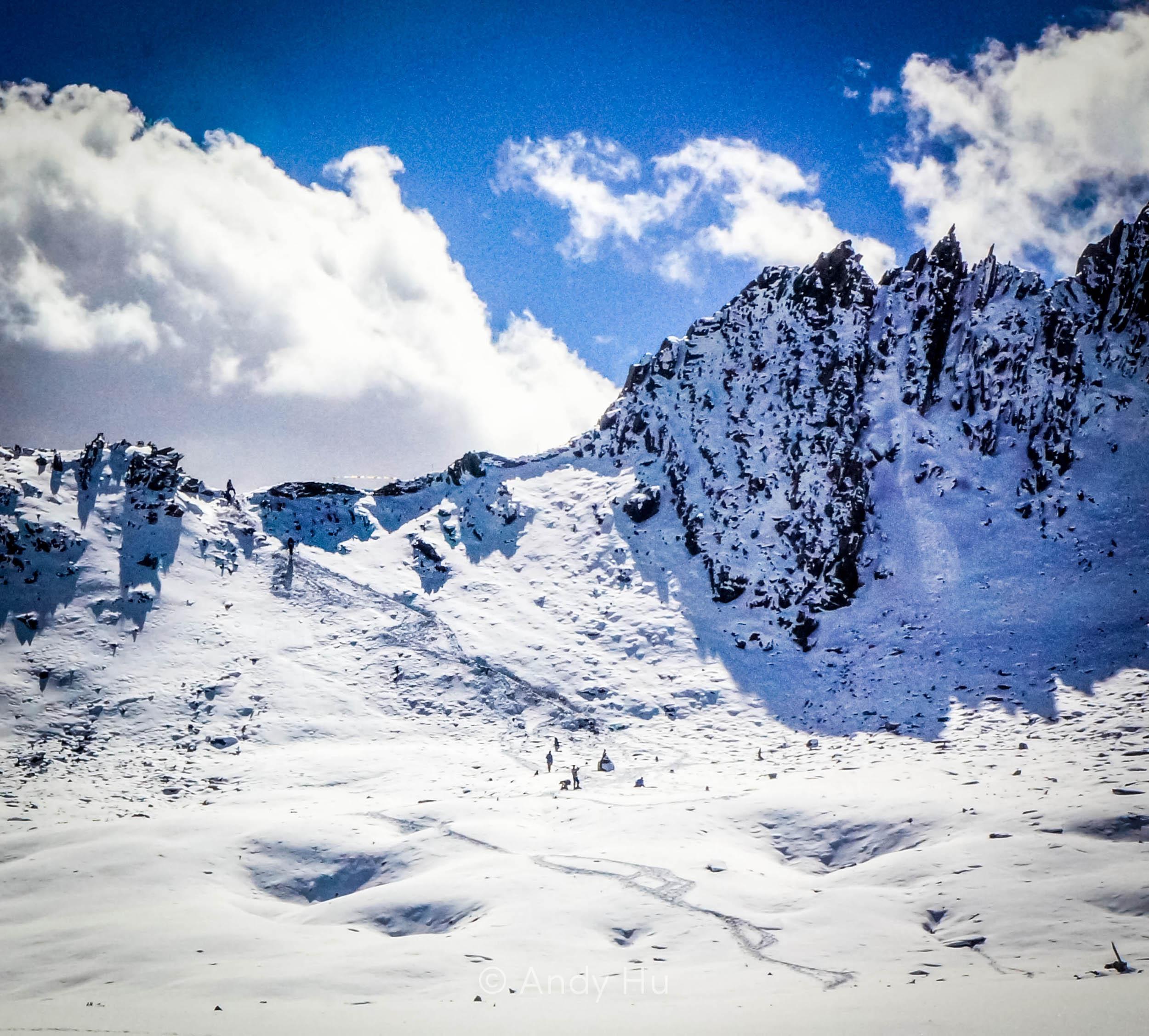 Riwoche Pass, day 2 Mt. Gongga Trek