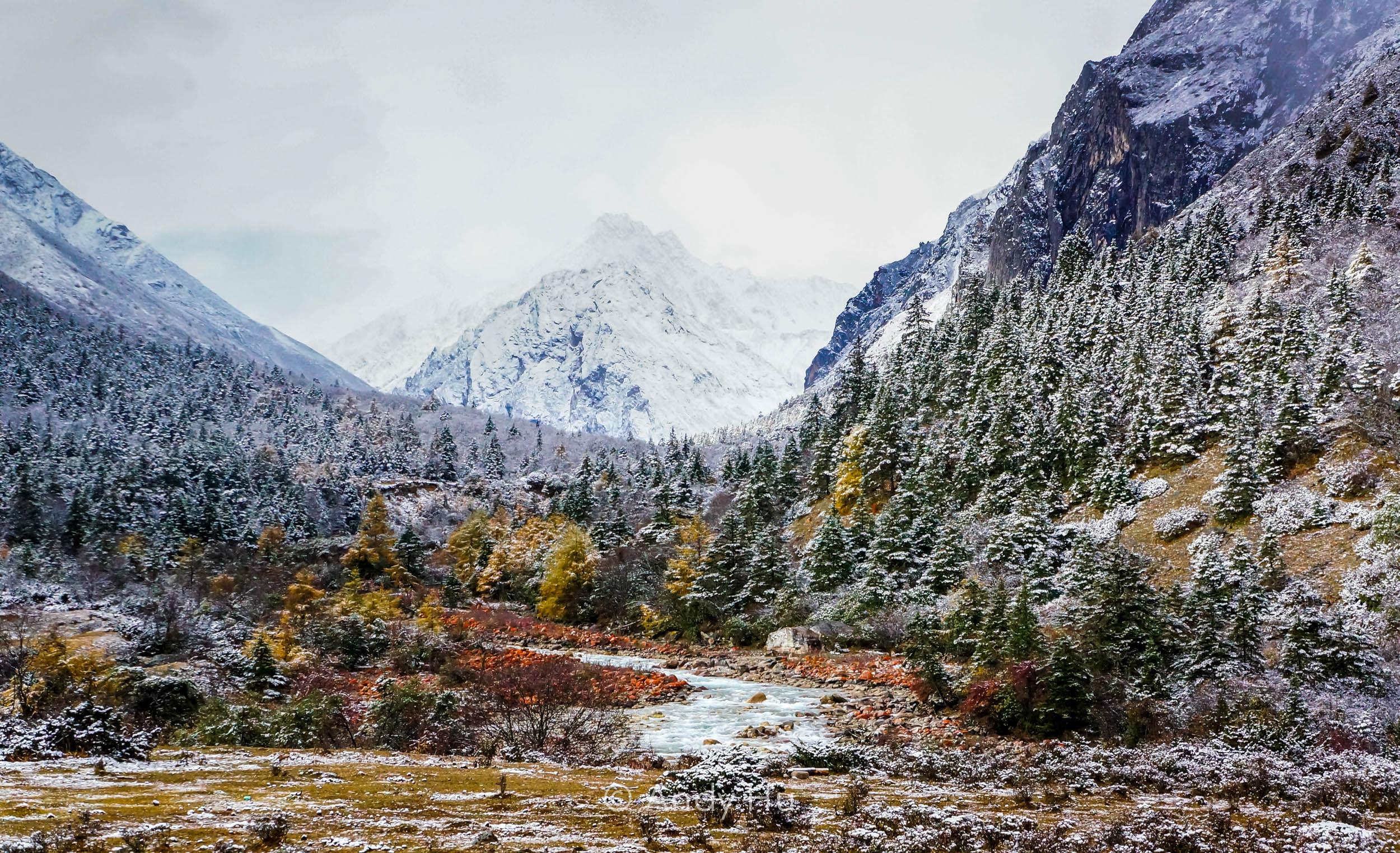Mt. Gongga Trek river