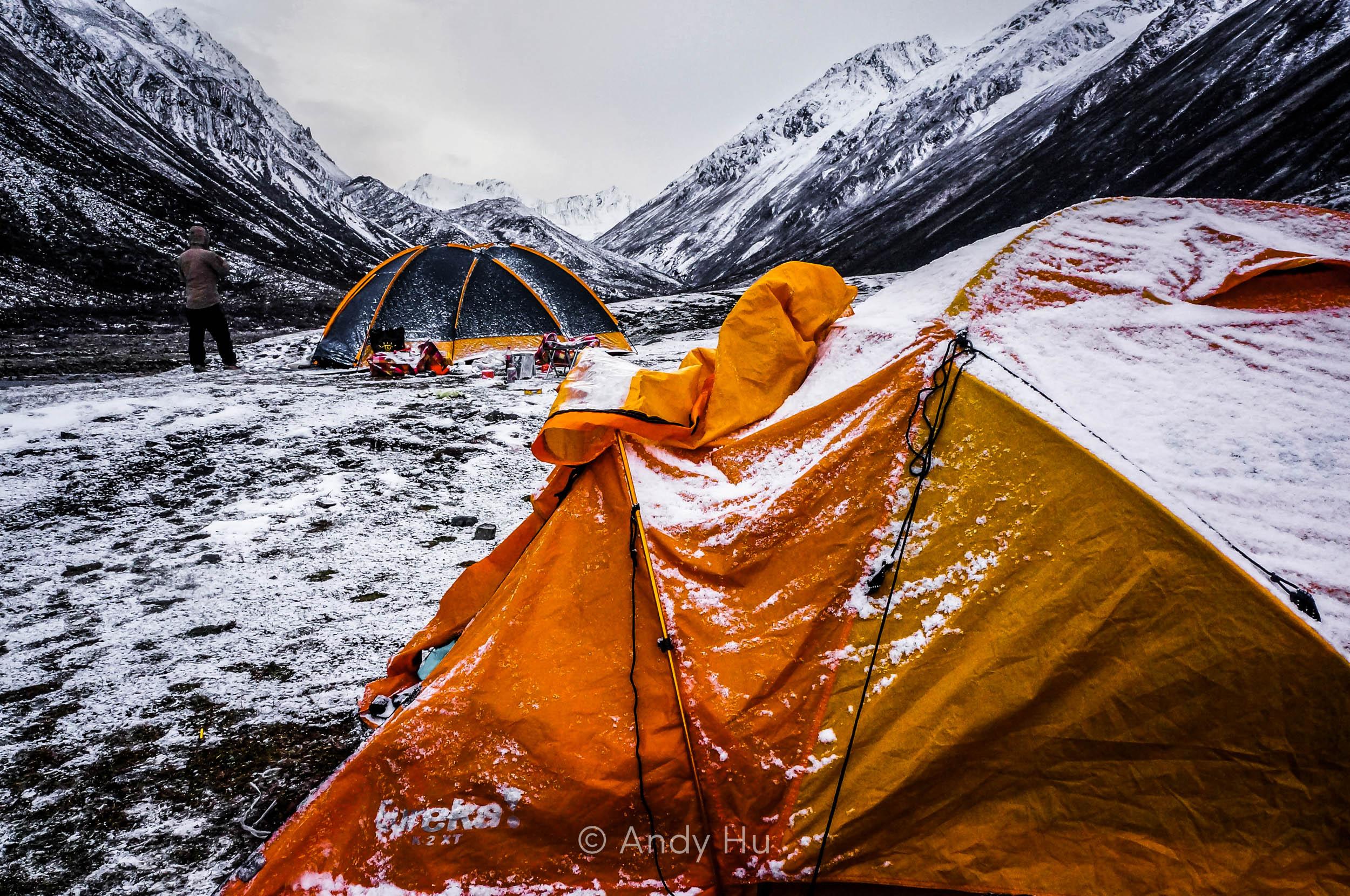 Mt Gongga Trek Lower Riwoche Campsite