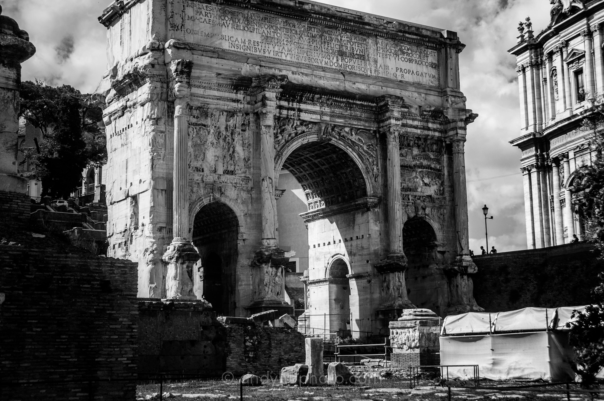 The Arch of Septimus Severus