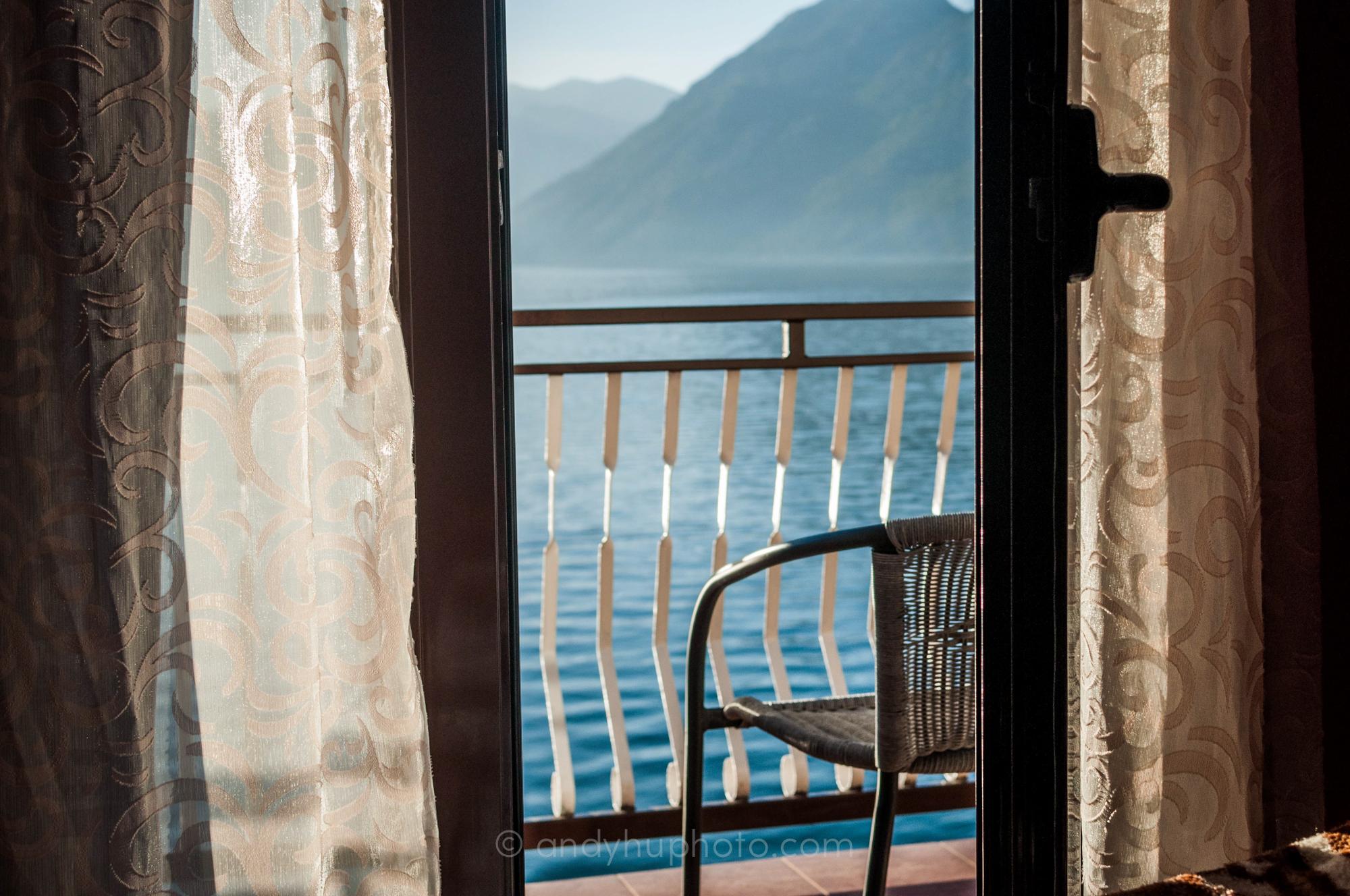 Balcony at Petar's Apartments