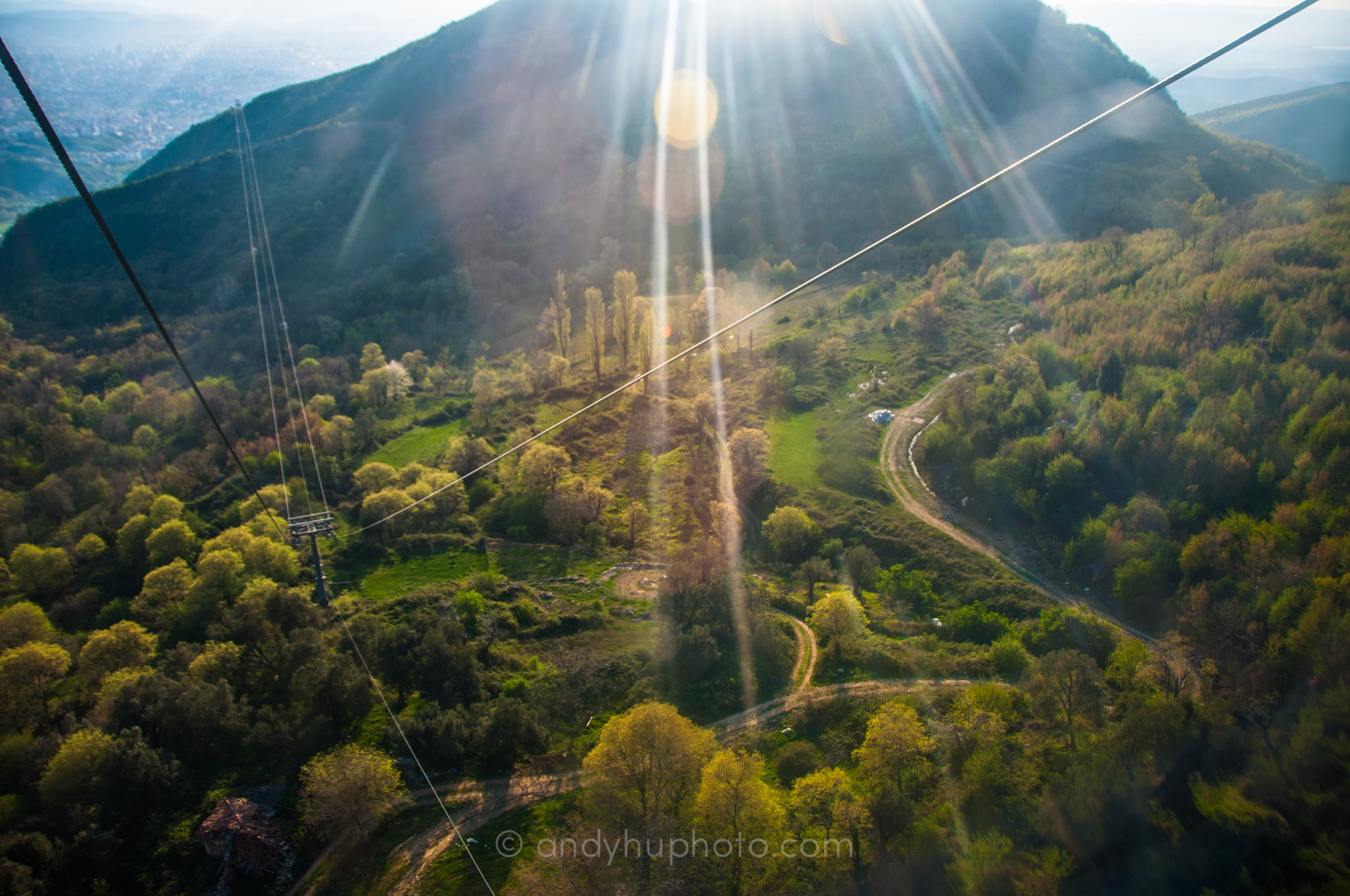 A thrilling ride up Mt. Dajti