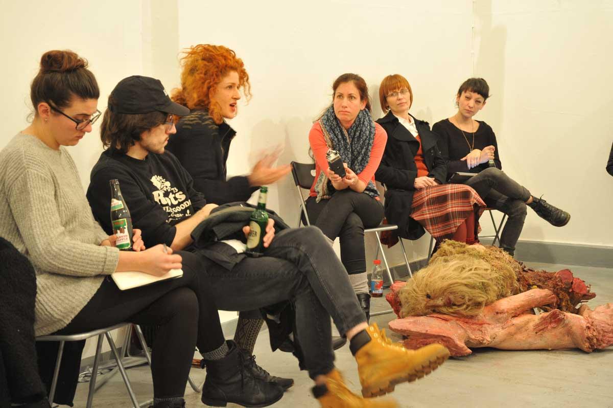 Artist talk with Moran Sanderovich