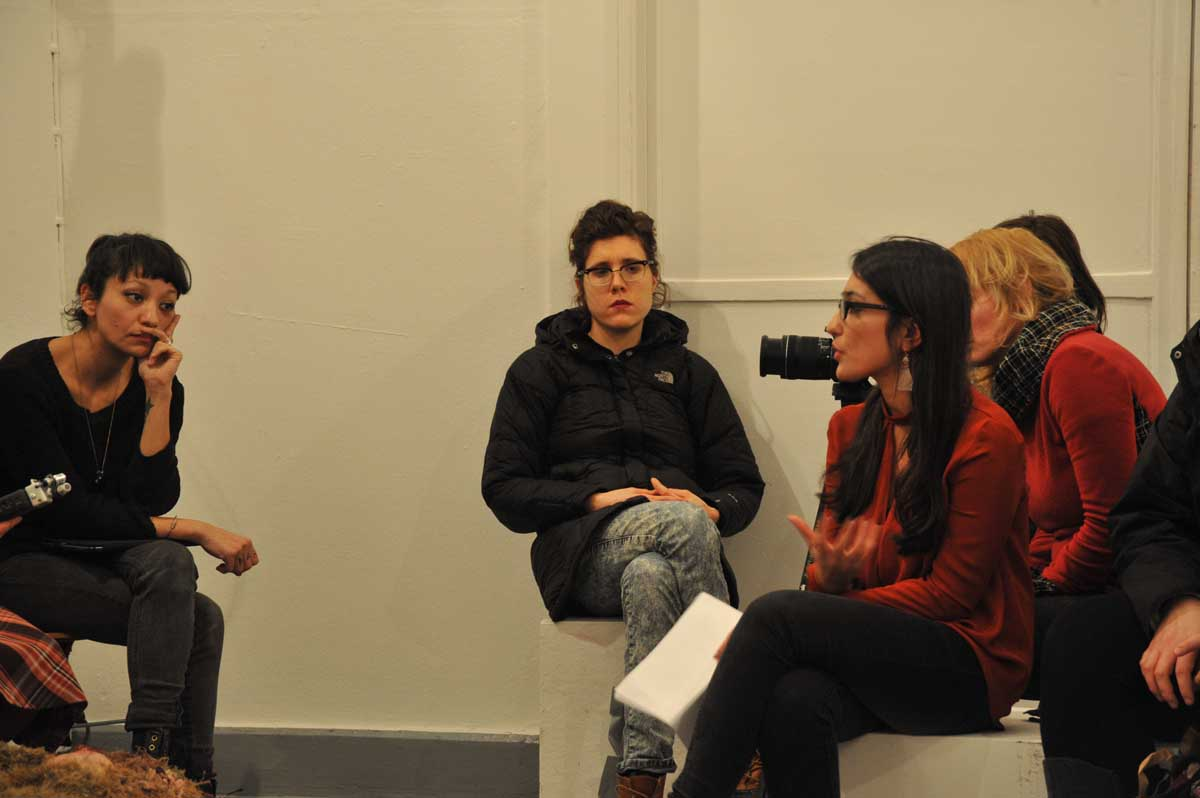 Conversations with the artists moderated by Armeghan Taheri