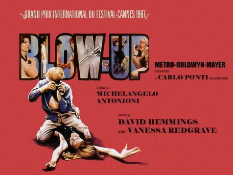 Blow Up Poster Film