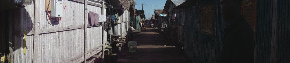 Village on Stilts, water Ghana 2012