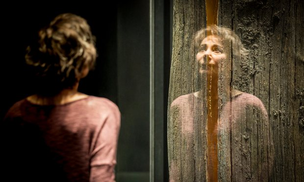 Zoë Wanamaker as a woman struggling with a degenerative disease in Elegy. Photograph: Johan Persson