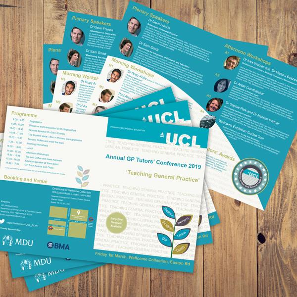 UCL Conference Leaflet