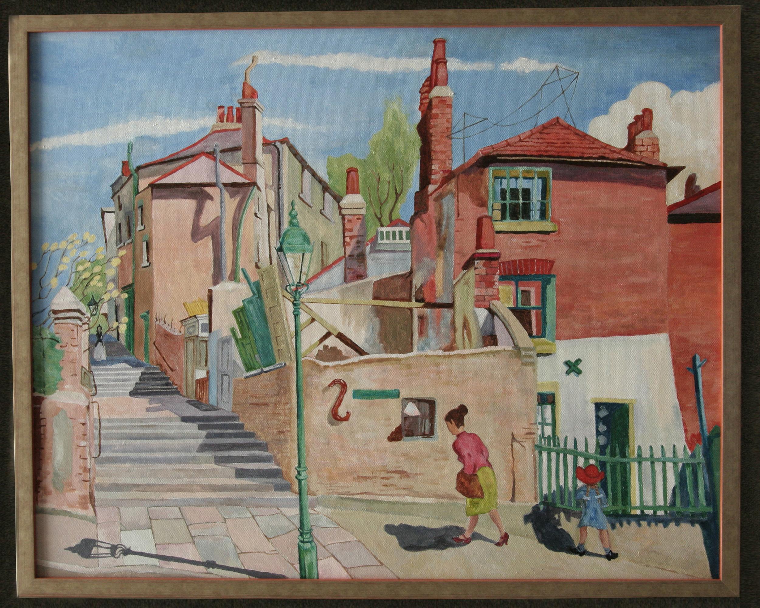 Copy of Harry Kernoff's  Sunny Day