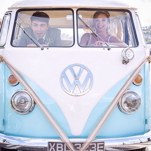 Thanks so much Katie & Michael for sharing this awesome shot from your wedding day a couple of weeks ago @forgansbf , you can't help but smile at that one 😂#makingmemories2019 #campervanwedding . . . #weddingtransport #brideandgroom #wedspiration #weddingplanning #getmetothechurchontime #makinganentranceuk #scottishweddings #scottishwedding #scottishweddingsupplier #weddingcamper #vwwedding #weddingcouples #mrandmrs #wedstagram #wedding2019💍 #viewfromtheslowlane