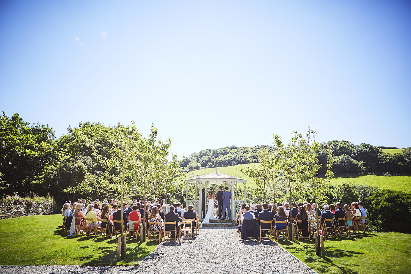 Real wedding at Pengenna Manor in Cornwall wedding venue Julia & Adam 01.jpg