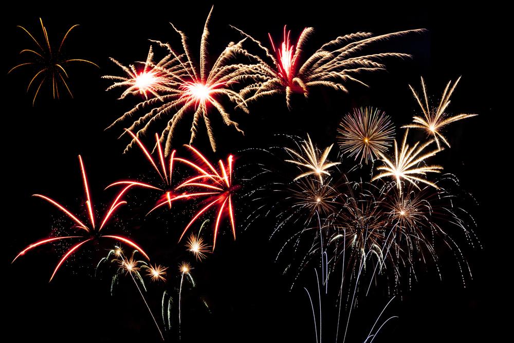 Outdoor firework event at Pengenna Manor in Cornwall 01.jpg