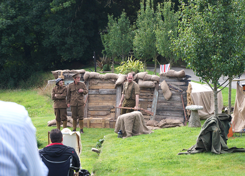 Outdoor theatre with NorthSouth Pals at Pengenna Manor event venue in Cornwall 01.jpg