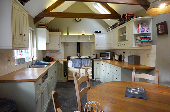 Luxury accommodation at Watergate at Pengenna Manor wedding venue in Cornwall Kitchen 01.jpg