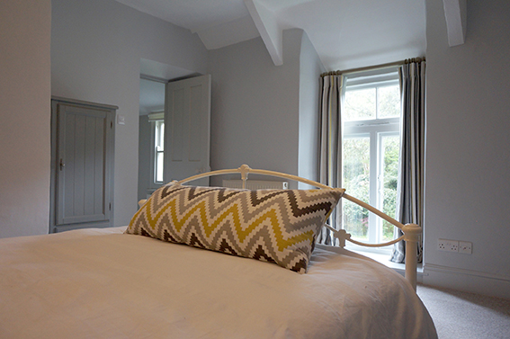 Luxury accommodation at Watergate at Pengenna Manor wedding venue in Cornwall Double bedroom 03.jpg